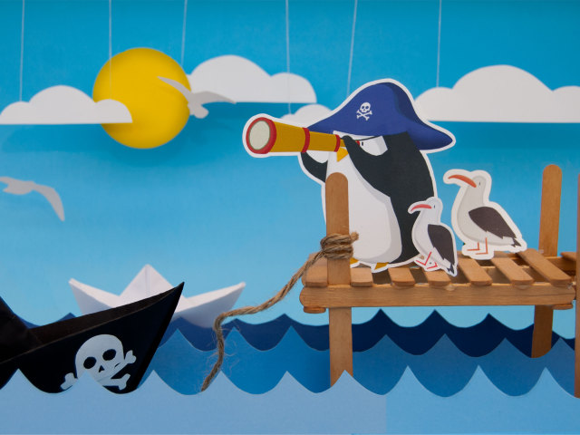 The pirate penguin