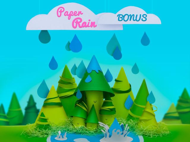 Paper rain – Bonus